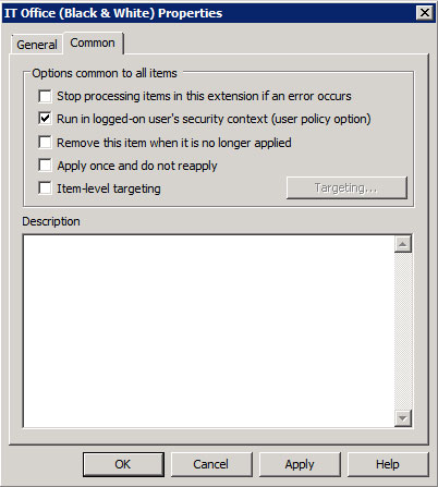 Deploying Printers to the fleet via Group Policy Preferences